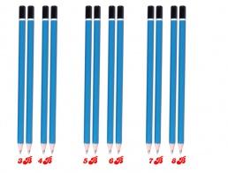Bút chì lục giác 3b-4b-5b-6b-7b-8b